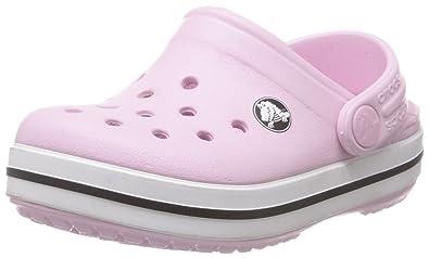 ac119a4ef0ba Crocs Junior Kids Crocband Clog Bubblegum 10998-66G-120 10 11 UK Child