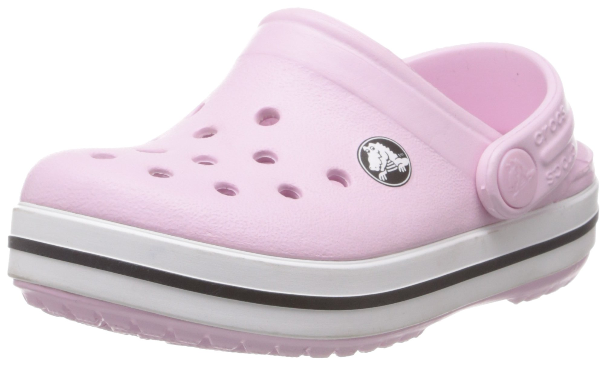 Crocs Kids' Crocband Clog, Bubblegum, 10-11 US Little Kid