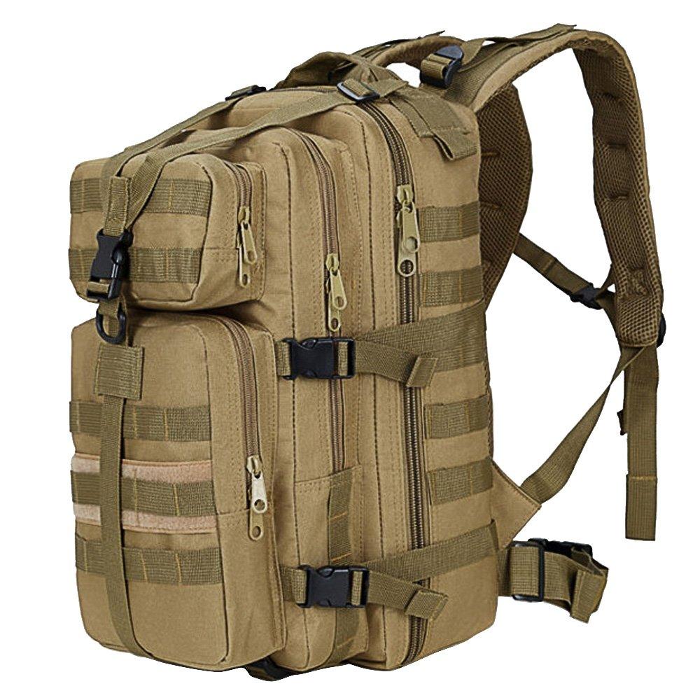 35L de gran capacidad al táctica aire libre expansible militar táctica al mochila impermeable viaje senderismo trekking escalada caza bolsa de ordenador portátil verde del ejército 25b925