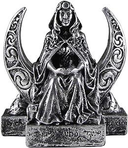 Dryad Design Moon Goddess Figurine - Silver Finish