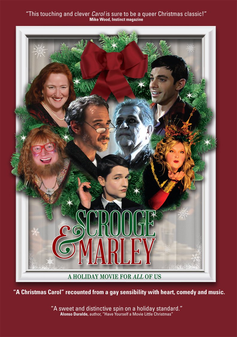 Actors David Pevsner and Tim Kazurinsky Round Out Cast of Gay Christmas Film Scrooge Marley'