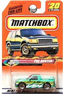 Matchbox 1998 Cool Concepts The Buster Pickup Truck Green #20