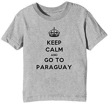 Erido Keep Calm and Go to Paraguay Niños Unisexo Niño Niña ...