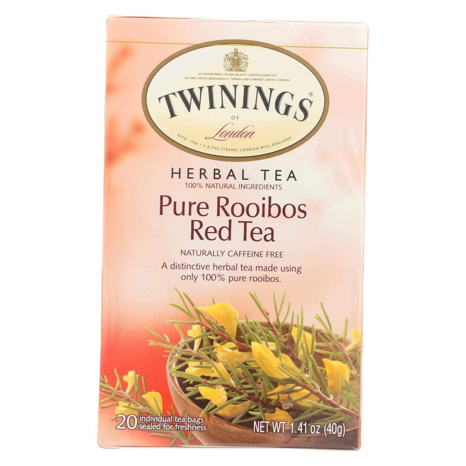 Twinings of London African Rooibos Red Tea (Pack Of 120)