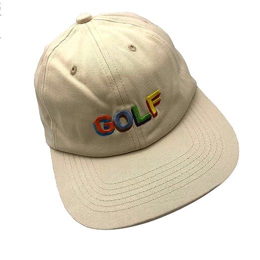 22ca21215 sanzihua Golf Hip Hop Hat Baseball Cap Embroidered Adjustable Snapback  Strapback Cream