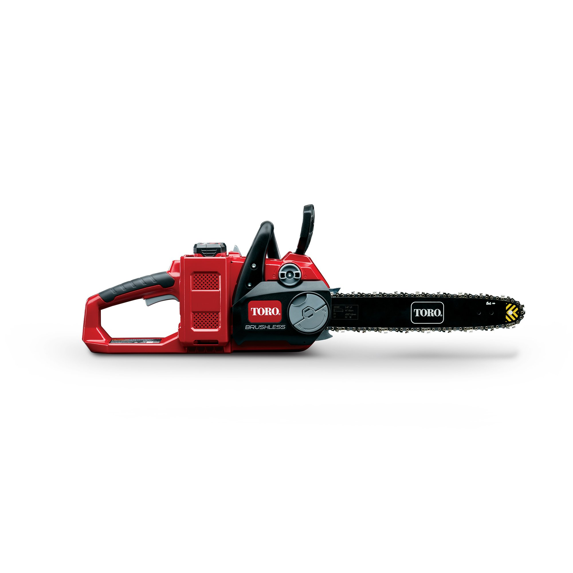 Toro PowerPlex 51880 Brushless 40V MAX Lithium Ion 14'' Cordless Chainsaw, 2.5 Ah Battery & Charger Included