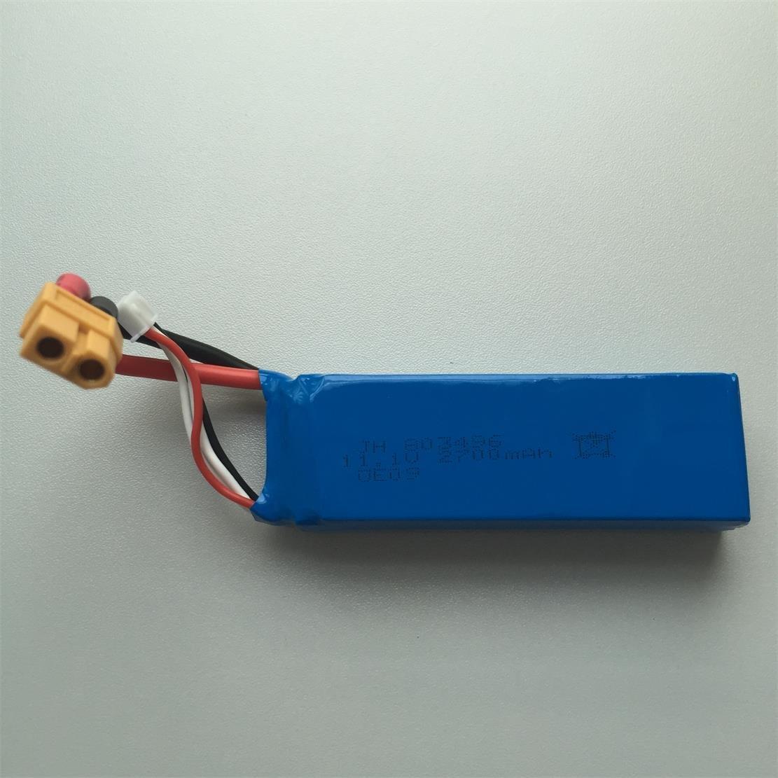 UUmart 30C 11.1V 2700mAh Lipo Battery For Cheerson CX-20 Wltoys...
