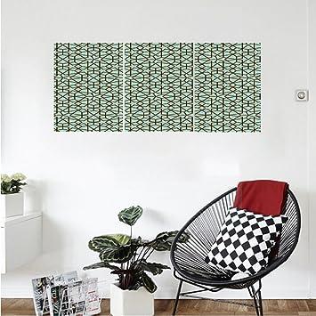 Liguo88 Custom Canvas Moroccan Decor Wall Hanging Arabic Design Geometry  Ornament Classic Interior Art Vacation Tourism