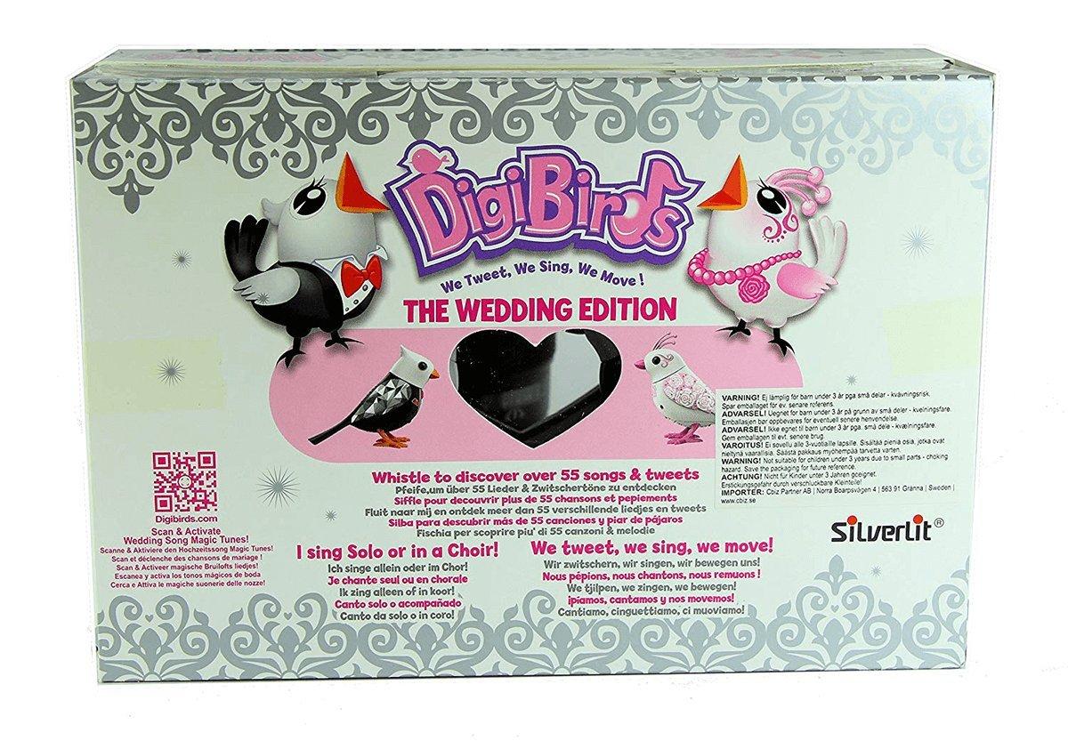 SilverLit DigiBirds 2 in 1 Wedding Edition Love Birds - Wedding Gift by Digi Birds (Image #3)