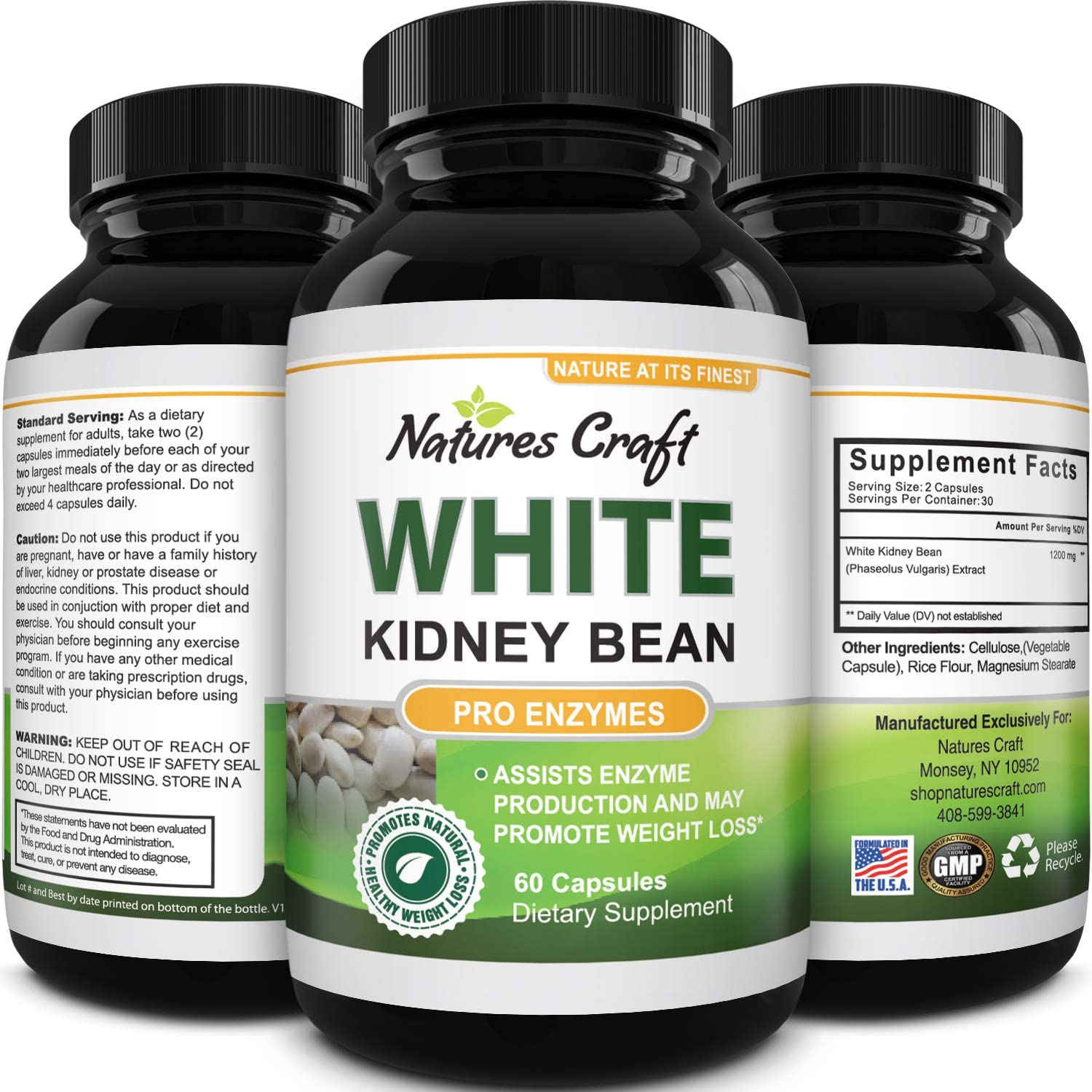 Amazon Com White Kidney Bean Energy Booster White Kidney Bean Extract Pill And Natural Vegetarian Supplements Natural Energy Pills For Fatigue And White Bean Extract Supplements Health Personal Care
