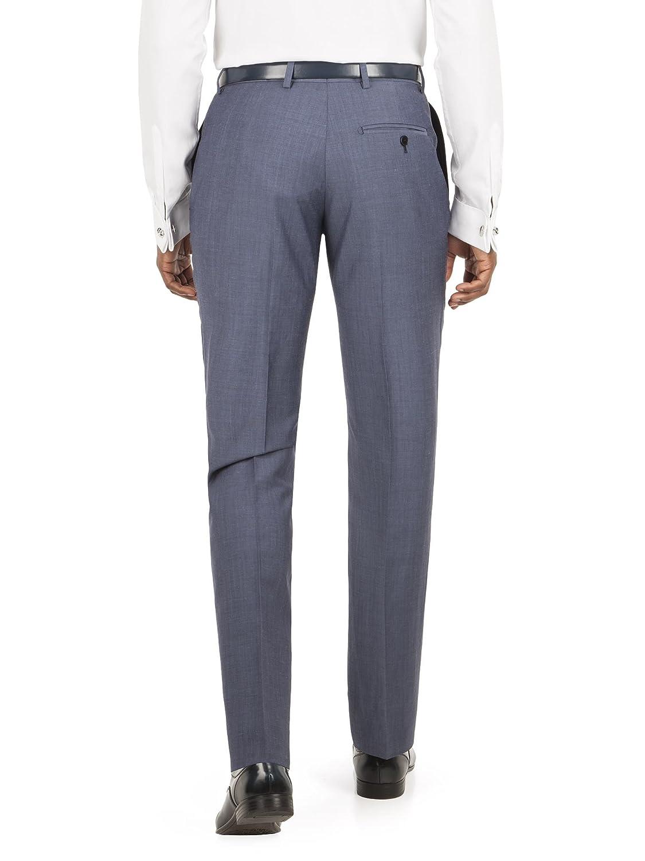 Alexandre of England Blue Mohair Trouser