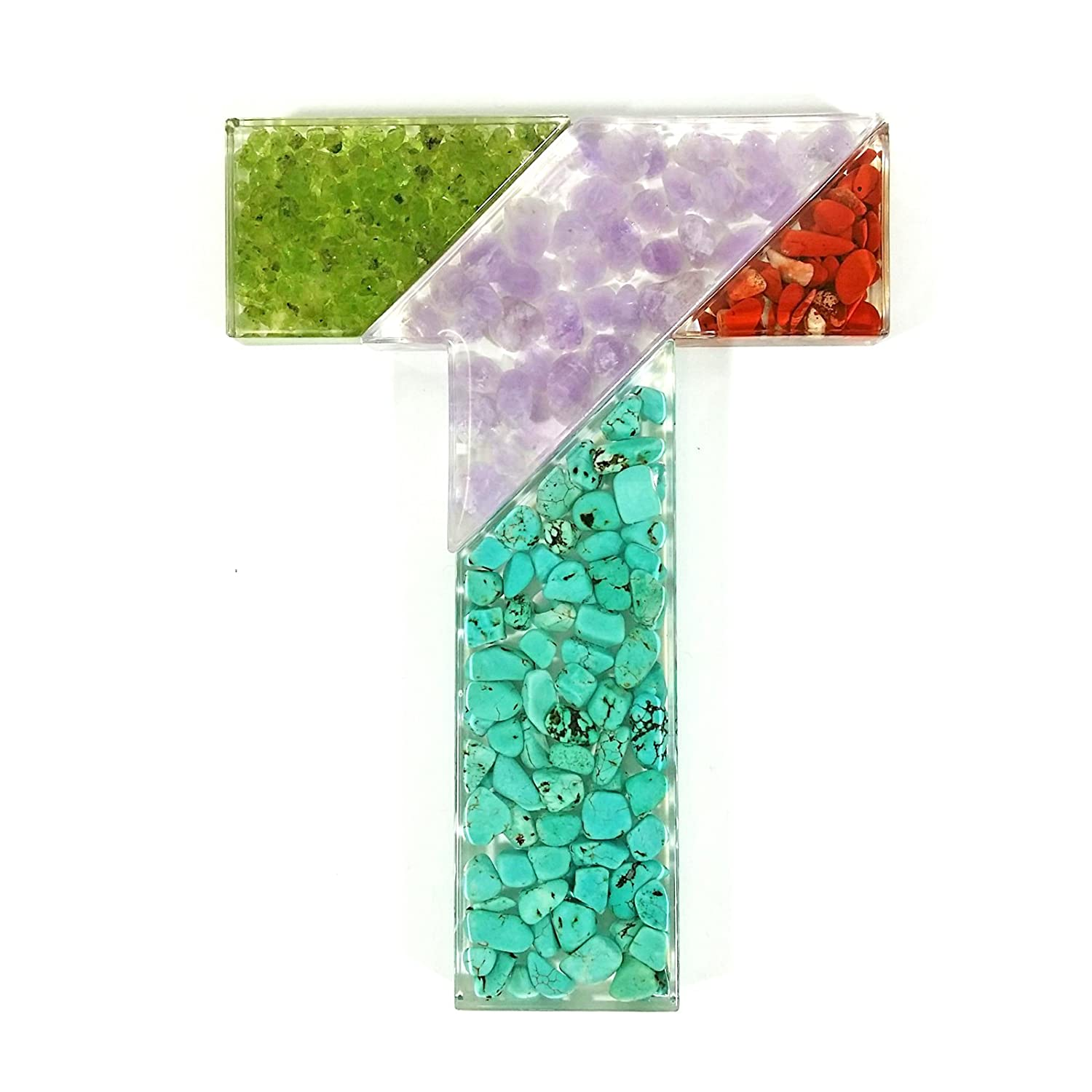 Real Cool Bug Company PUZ1413 REALBUG Mineral Tangram Puzzle 4 Piece