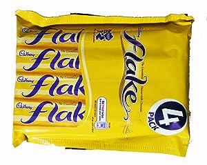 British Chocolates Cadbury Flake Bar 25.6g 4 count