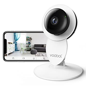 Vodool 1080p Home Camera, Indoor IP Surveillance Security Camera System Night Vision, Wireless Amazon.com :