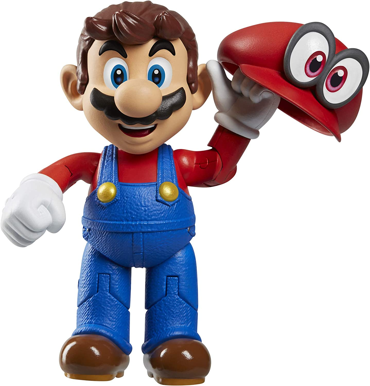 Amazon Com Super Mario World Of Nintendo Mario Odyssey With Hat