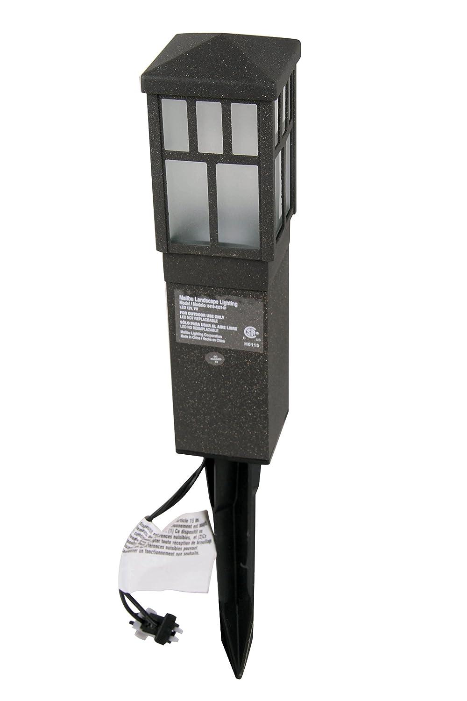 Amazon.com : Malibu Mission Collection LED Bollard Pathway Light ...