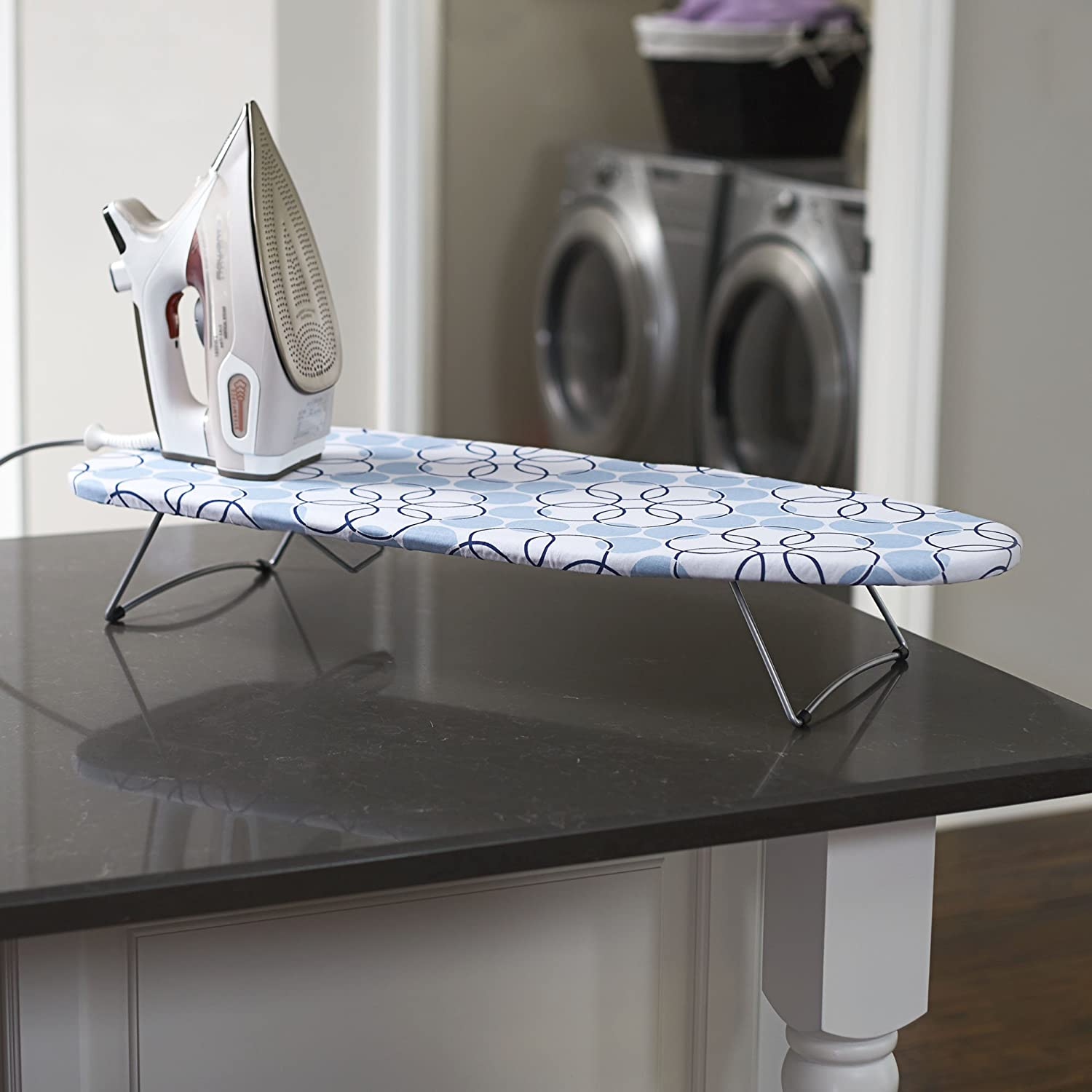 Extendable ironing board - convenient equipment for small apartments