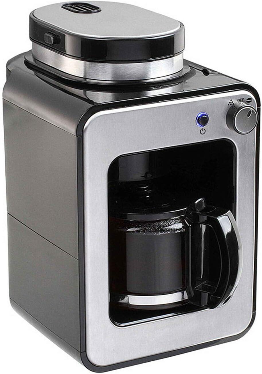 ONOGAL Cafetera automatica con Molinillo para moler Cafe y Filtro Permanente 6391: Amazon.es: Hogar