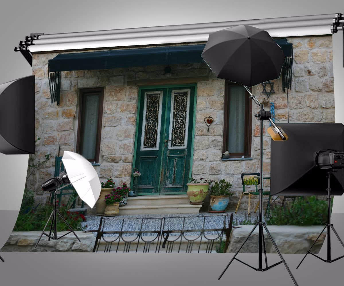 Lyly County 7/×5 ft House Theme Background Backgdrop Cloth Boot Background Studio Props Photography LYDAN063
