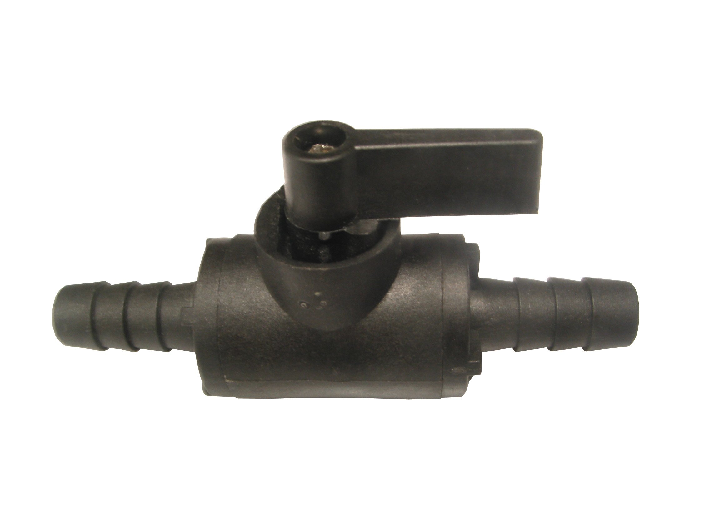 Master PBV-38HB-CSK Polypropylene Valve with 3/8'' Male Hose Barb x 3/8'' Hose Barb for up to 150 PSI Max
