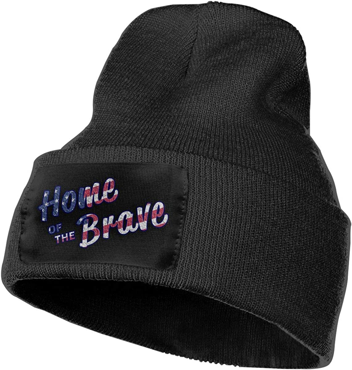 SLADDD1 Phrase Warm Winter Hat Knit Beanie Skull Cap Cuff Beanie Hat Winter Hats for Men /& Women