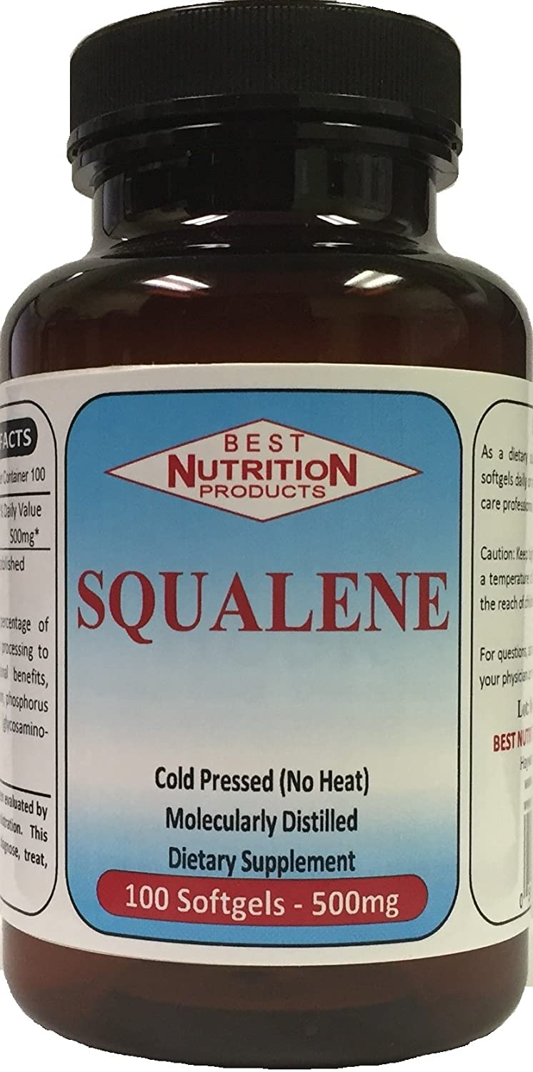 Squalene (500mg - 100 Softgels), Best Nutrition Products, Hayward, CA The  Natural Nutritional