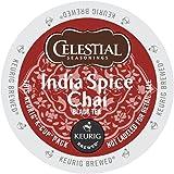 Celestial Seasonings India Spice Chai Tea K-Cup 48 Count Case