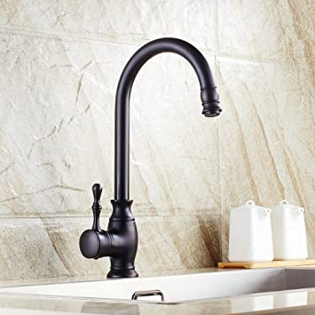 Beelee BL0729B Traditional Kitchen Faucet Single Handle without ...
