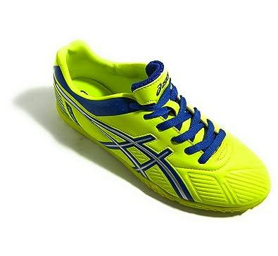 Asics - Zapatillas de fútbol Sala de Material Sintético para Hombre Amarillo Amarillo Amarillo Size: 45: Amazon.es: Zapatos y complementos