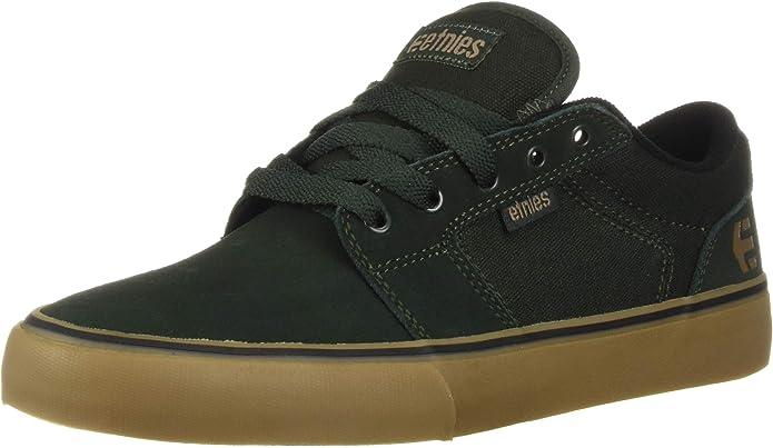 Etnies Barge LS Sneakers Skateboardschuhe Herren Grün/Kautschuk