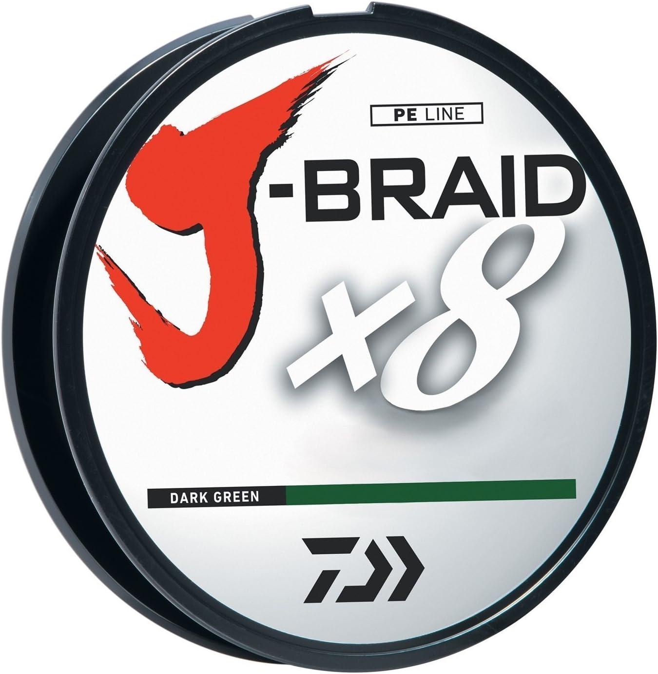 Daiwa J-Braid 300M 8-Strand Braided Line