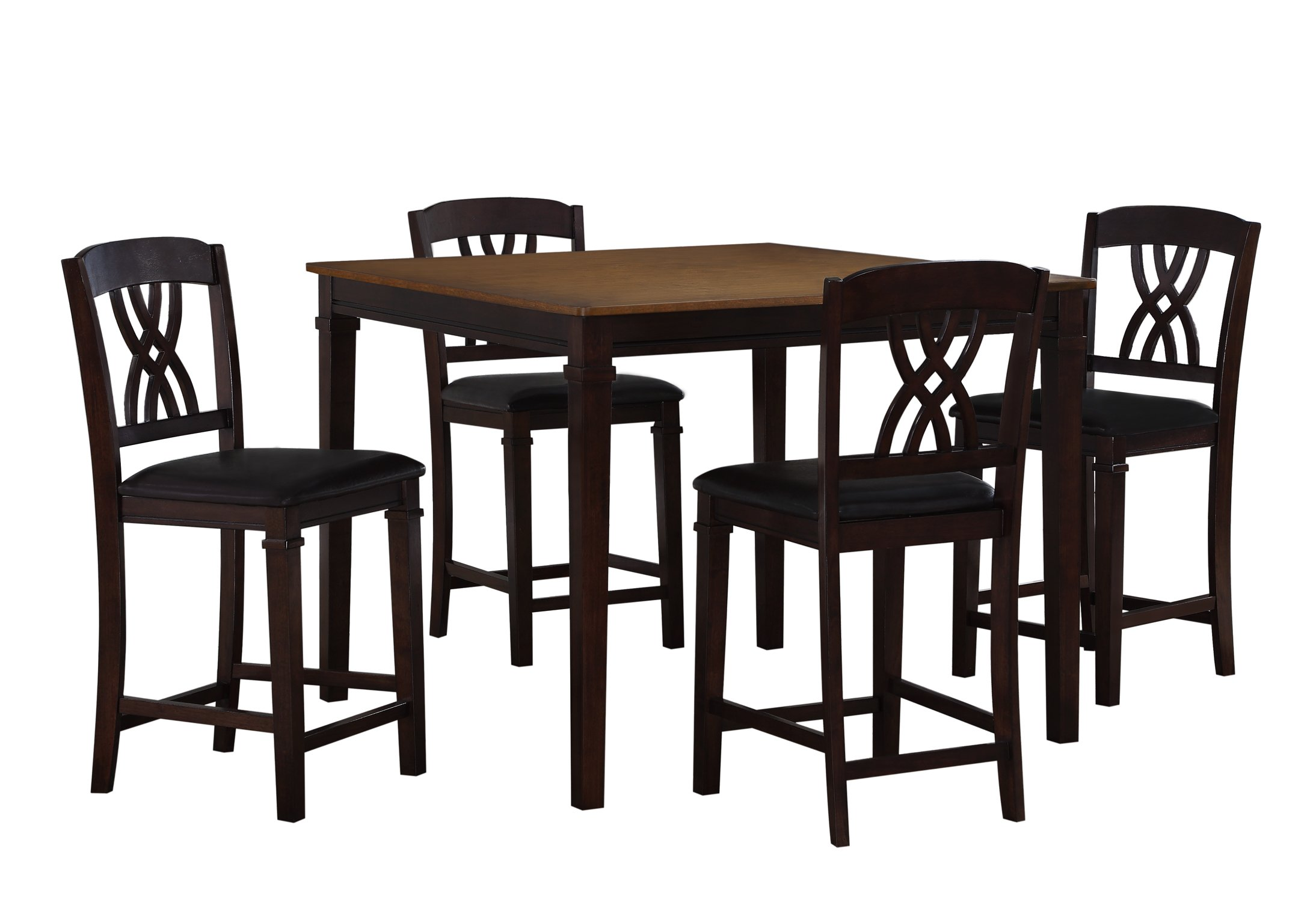Craft and Main Camden 5Piece Counter Height Dining Set with Four Barstools