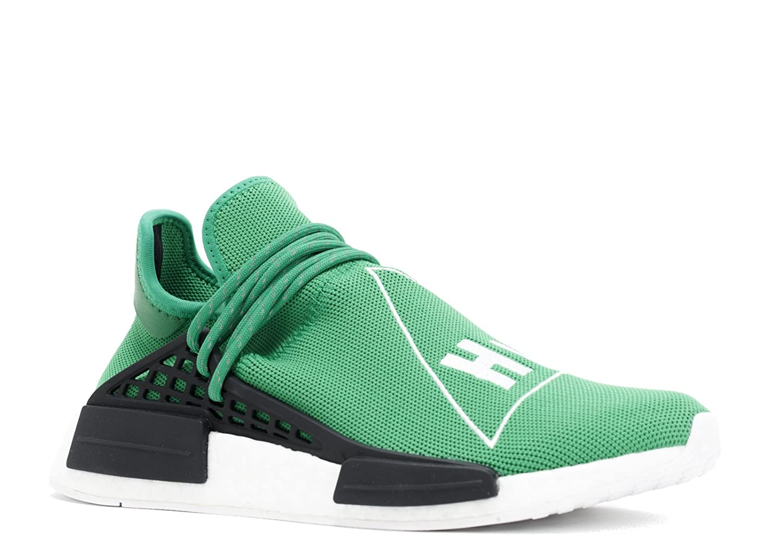 adidas Originals PW Human Race NMD Trail Shoe Men's Hiking B0768NB7GK 7.5 D(M) US|Green/Cwhite