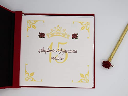 Welcome Page and 10 Guest Pages for Stephanie New Custom Insert