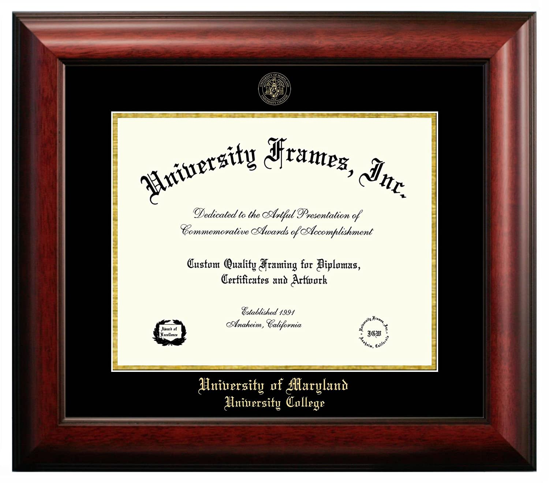 Amazon.com : University of Maryland University College Diploma Frame ...
