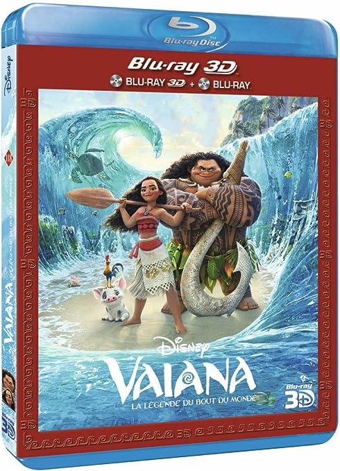 Vaiana, la légende du bout du monde [Blu-ray]: Amazon.es ...