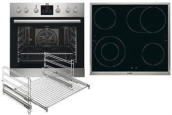 AEG Kombi 3020 Cerámico Horno eléctrico sets de electrodoméstico de cocina - Sets de electrodomésticos de