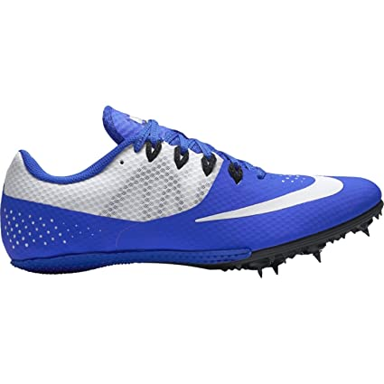 49e83b225bc Amazon.com  Nike Zoom Rival S 8 Track Sprint Spikes Shoes Blue White ...