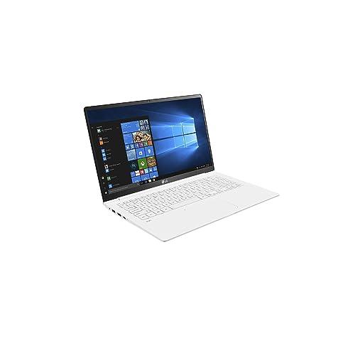 LG gram 15Z980-B - Portátil de 15.6'' Full HD IPS (1 Kilo, bateria de 19 Horas, Intel i7 8550U 8th Gen, 8 GB RAM, 256 GB SSD, Windows 10 Home), Blanco - Teclado QWERTY Español