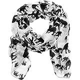 World of Shawls Ladies Womens Elephant Print Scarf Wraps Shawl Soft Scarves Sarong