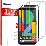 [3 Pack] QITAYO Screen Protector for Google Pixel 4, [Tempered Glass] [Scratch Resistant] [Alignment Frame] Google Pixel…