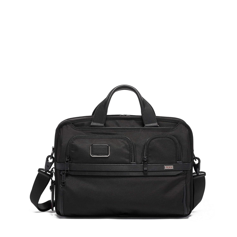 368a1a7b44ff TUMI - Alpha 3 T-Pass Medium Screen Laptop Slim Brief Briefcase - 14 Inch  Computer Bag for Men and Women - Black