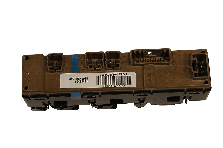 ACDelco 15883321 GM Original Equipment Door Lock and Side Window Switch with Module