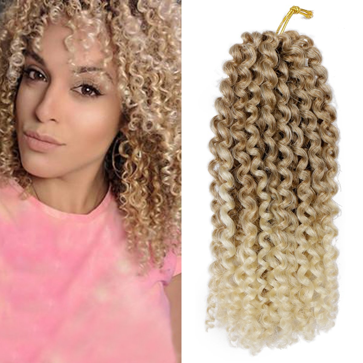 Amazon Pack Of 3 Ombre Color Marlybob Crochet Braiding Hair