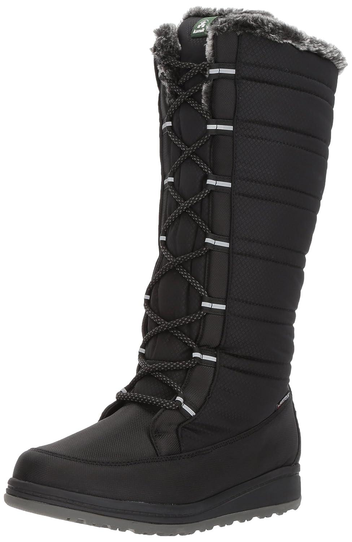 Kamik Women's Starling Snow Boot B01MZ4ZGTS 5 D US|Black