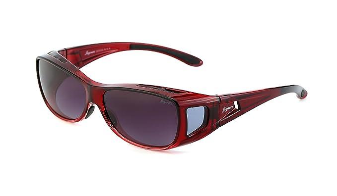 Joysun Gafas de Sol Unisexes de las Cubiertas de Lentes Polarizados y de la Forma de