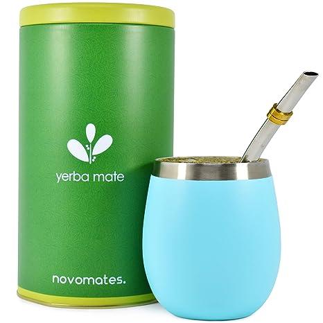 Amazon.com: Novomates [NUEVO} Yerba Mate Gourd – Mejor Yerba ...