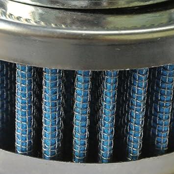 JRL 42mm 44mm Pancake Air Filter Fit Honda Suzuki Kawasaki Pit Dirt Motorcycle Bike