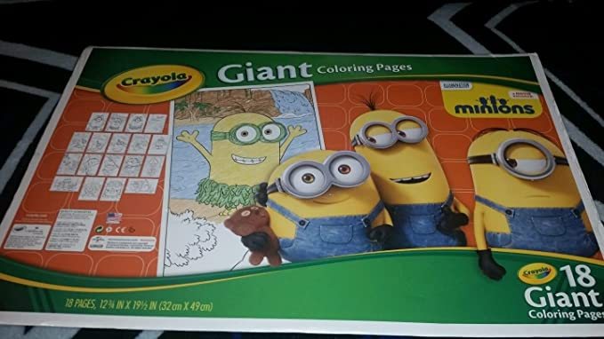 Crayola Giant Coloring Pages-Minions 071662120047 by_angeband_0 ...