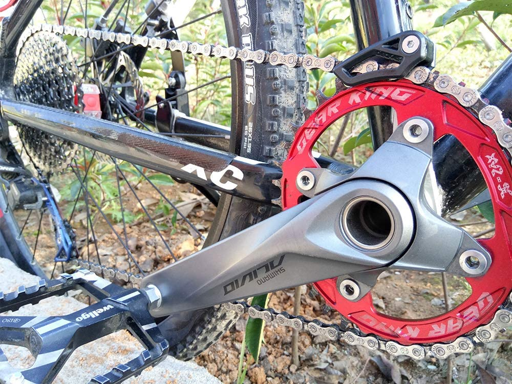 DECKAS Chain Guide BB Mount 7075 Aluminium Alloy Mount Bike Chain Guard 30-40T